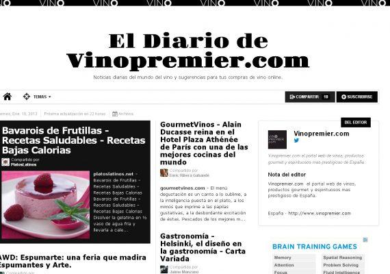 El diario de Vinopremier