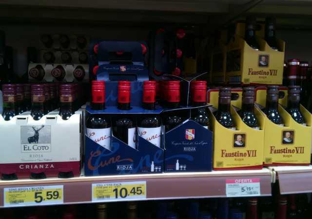 Sobre Mini #Vino y #Hipermercados