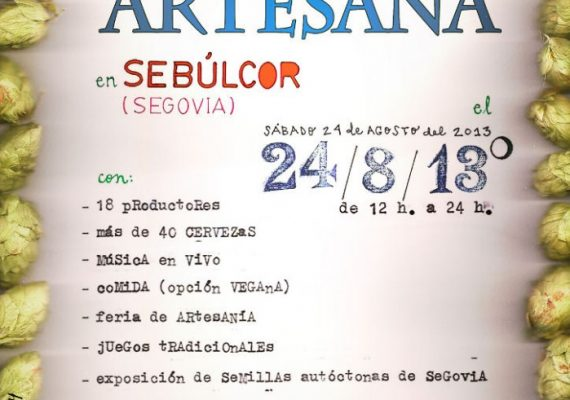 Feria de #Cervezas Artesanas en Sebulcor. #Segovia