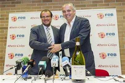 #Vino y #Basket: Martín Códax patrocinador MundoBasket España 2014.