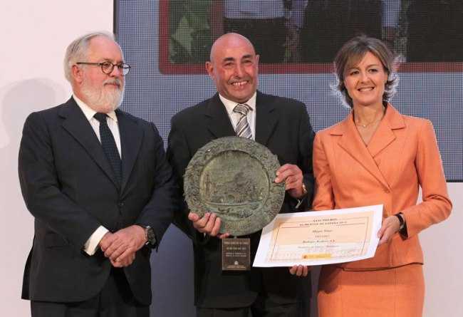 "Bodegas Rodero premio ""Alimentos de España 2013"" al mejor vino"