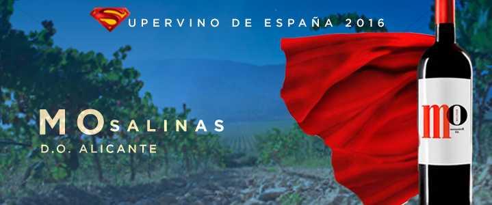 El «supervino» 2016: vino tinto MO de Sierra Salinas