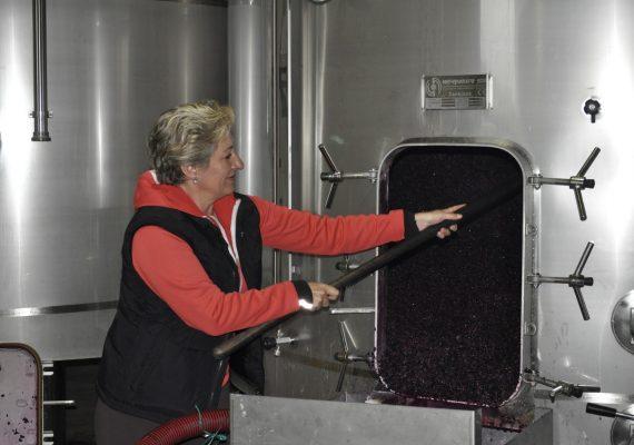 Jone Miren Crespo: «Habrá que trabajar mucho para que el vino español deje de considerarse fuera de nuestras fronteras como un vino vulgar y barato».
