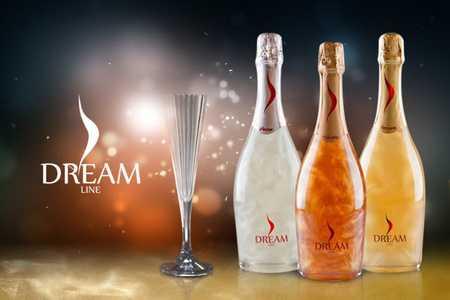 Dream Line, vinos con mucho glamour, su efecto mágico crea la mezcla perfecta entre sabor y presentación.