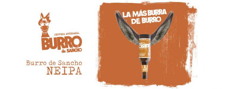 Burro de Sancho Neipa, la nueva cerveza artesana de la cervecera La Sagra