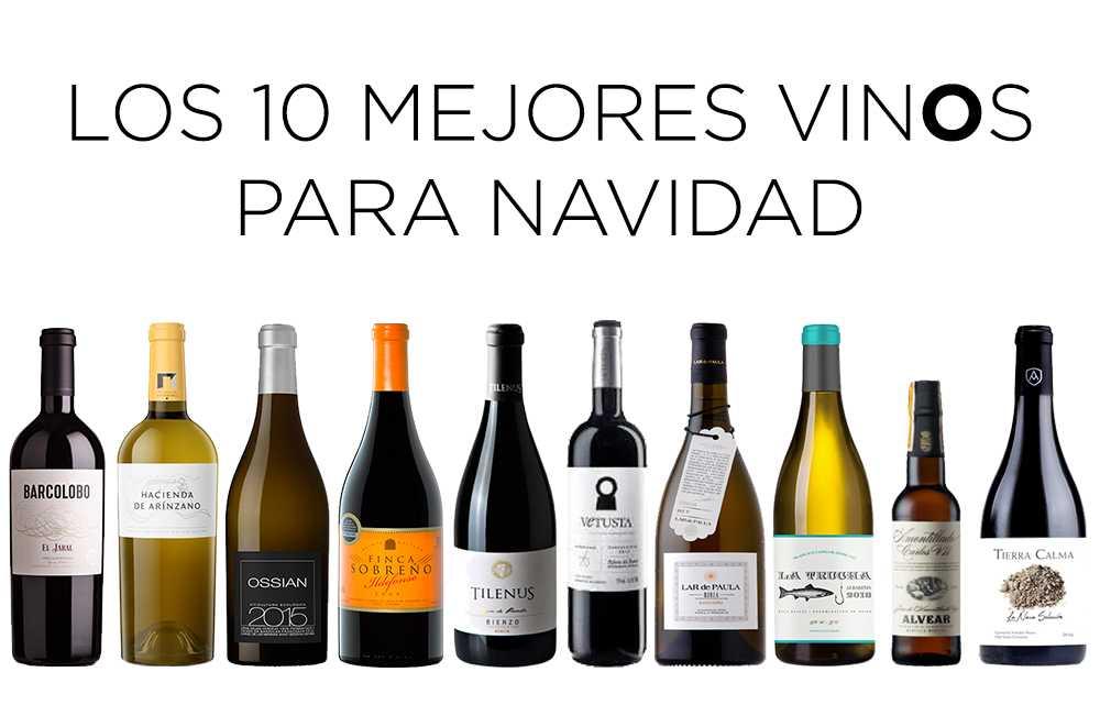 los 10 mejores vinos para Navidad