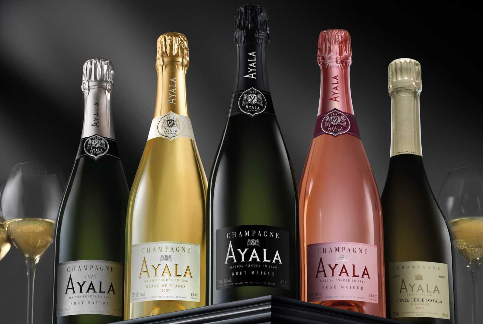 Una Historia, Champagne Ayala