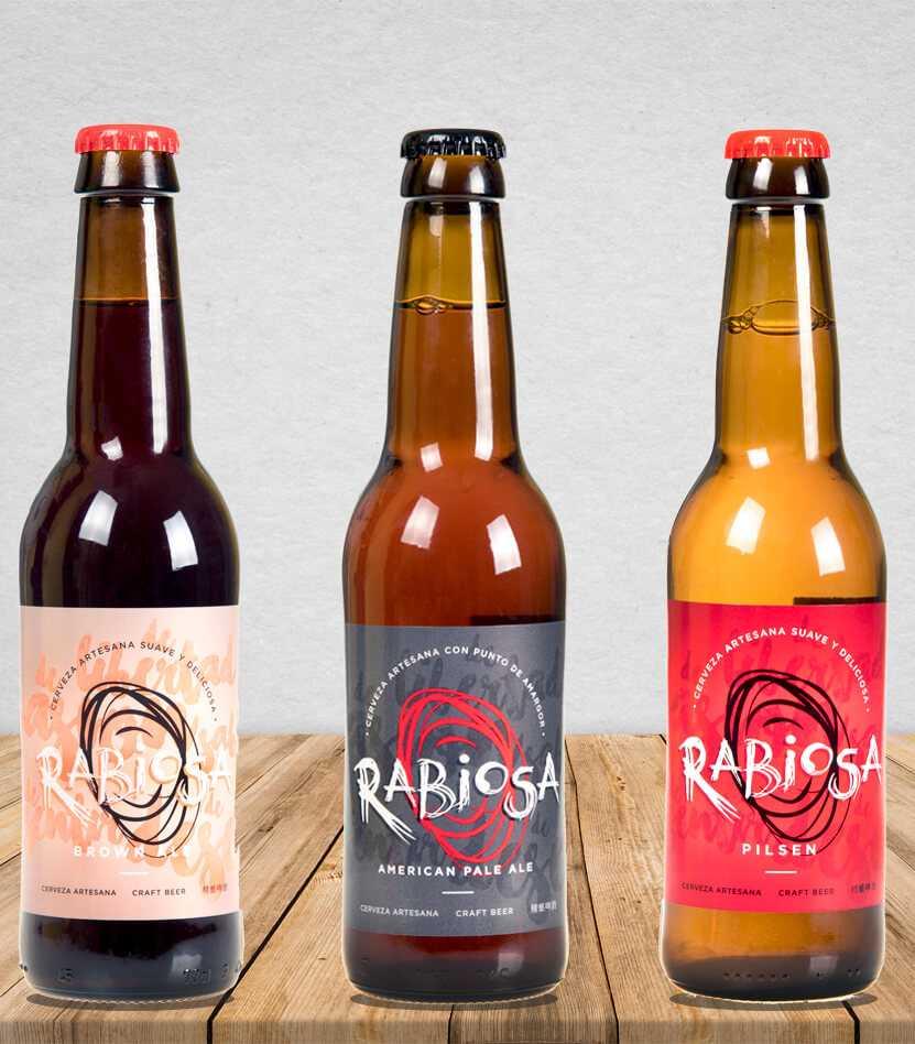 Conoce la familia de Cervezas Artesanas Rabiosa