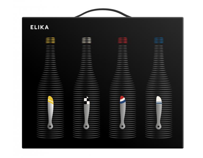 La colección de vinos almanseños, nacidos del mayor territorio ecológico, ELIKA, sorprenden tanto por su diseño como por su calidad