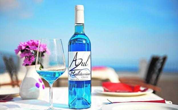 vino azul - vinopremier