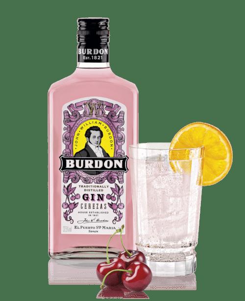 ginebra Burdon cerezas
