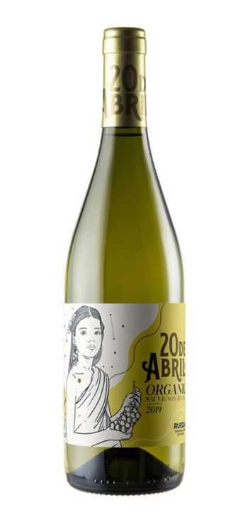 Vino-Blanco-20-de-Abril-Sauvignon-Blanc-Ecológico-Vegano-Verdeal