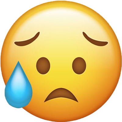 EMOJI triste PORQUE ME FALTA VINO