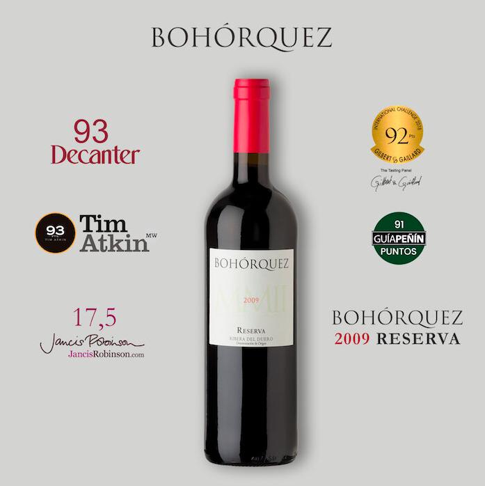 bodegas bohórquez - vinopremier